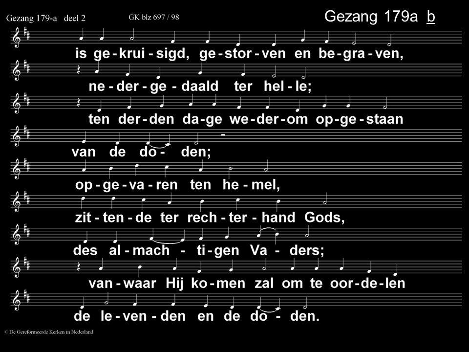 ... Gezang 179a b