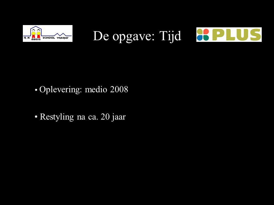 De opgave: Product / klant Multifunctioneel complex: - Basisschool  Plus Retail en Plus van Leeuwen - Supermarkt - Woningen  Gemeente Midden-Delflan