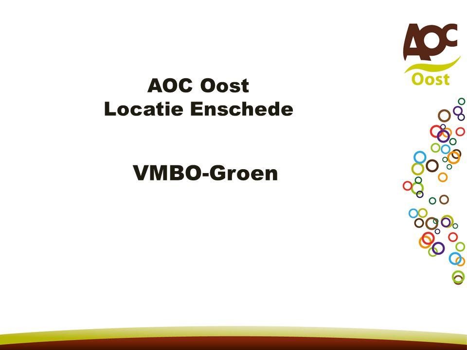 AOC Oost Locatie Enschede VMBO-Groen