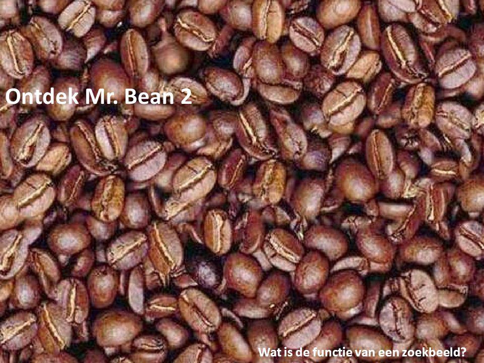 Ontdek Mr. Bean 2 Wat is de functie van een zoekbeeld?