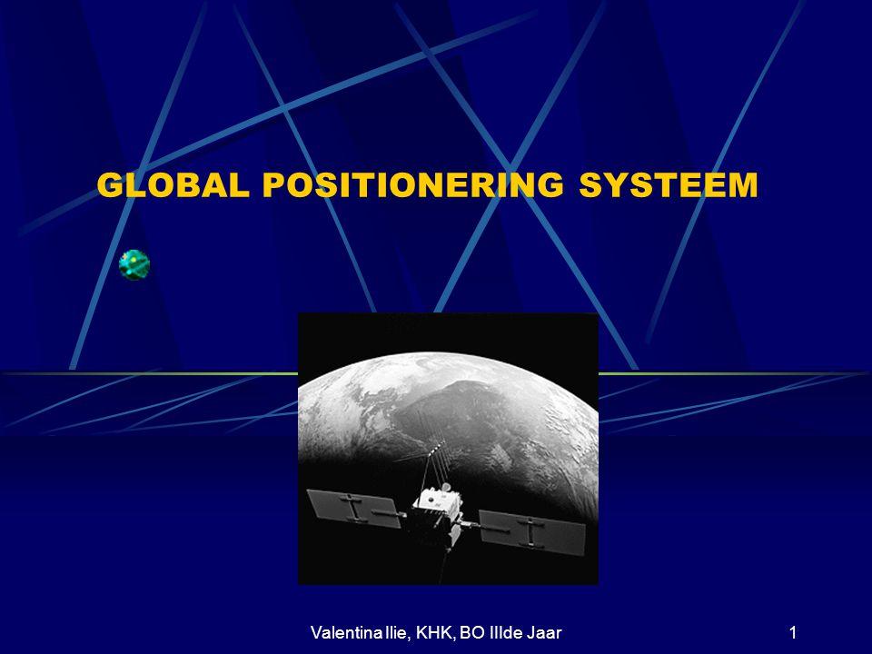 Valentina Ilie, KHK, BO IIIde Jaar1 GLOBAL POSITIONERING SYSTEEM