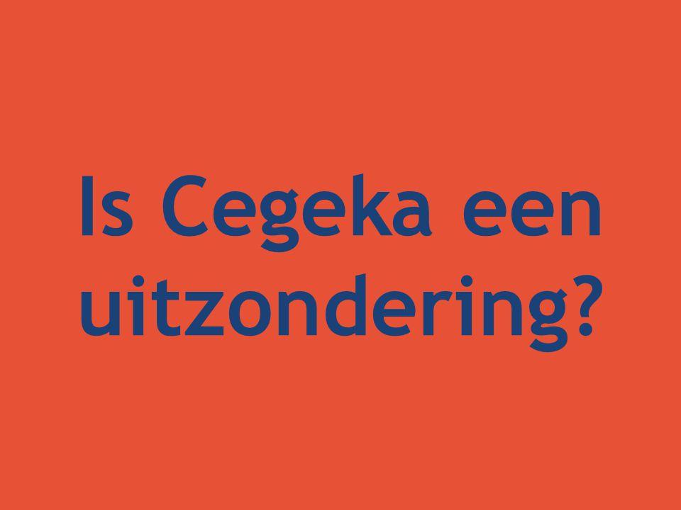 Is Cegeka een uitzondering?