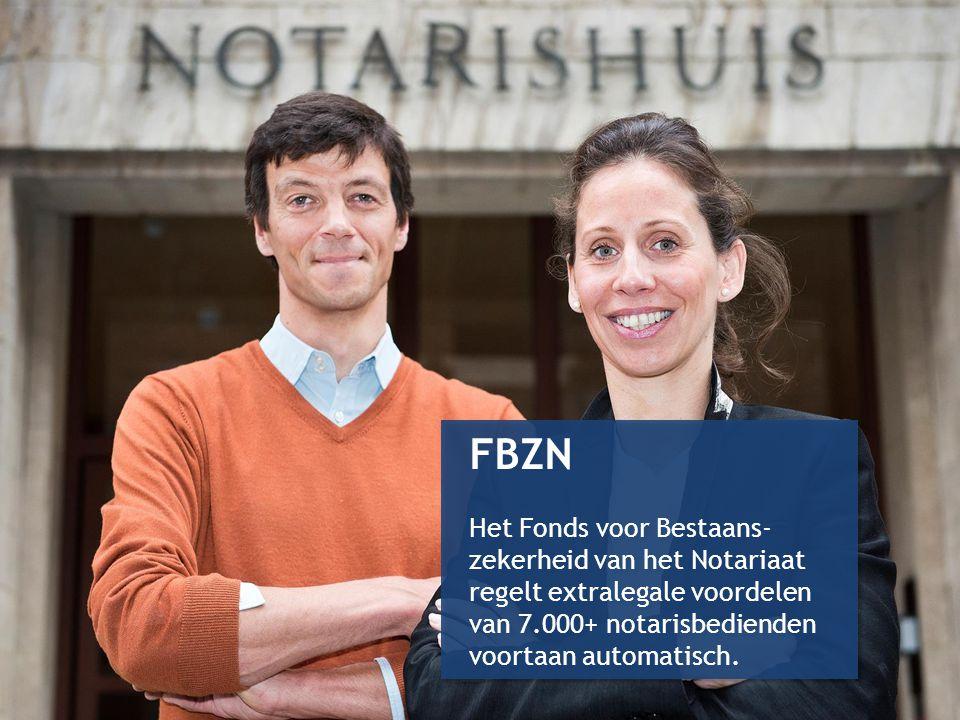 32 FBZN Het Fonds voor Bestaans- zekerheid van het Notariaat regelt extralegale voordelen van 7.000+ notarisbedienden voortaan automatisch. FBZN Het F