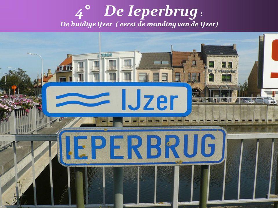 3° Kreek Nieuwendamme : Is de voormalige meanderende loop van de ijzer en zorgt voor de afwatering van de Nieuwlandpolder
