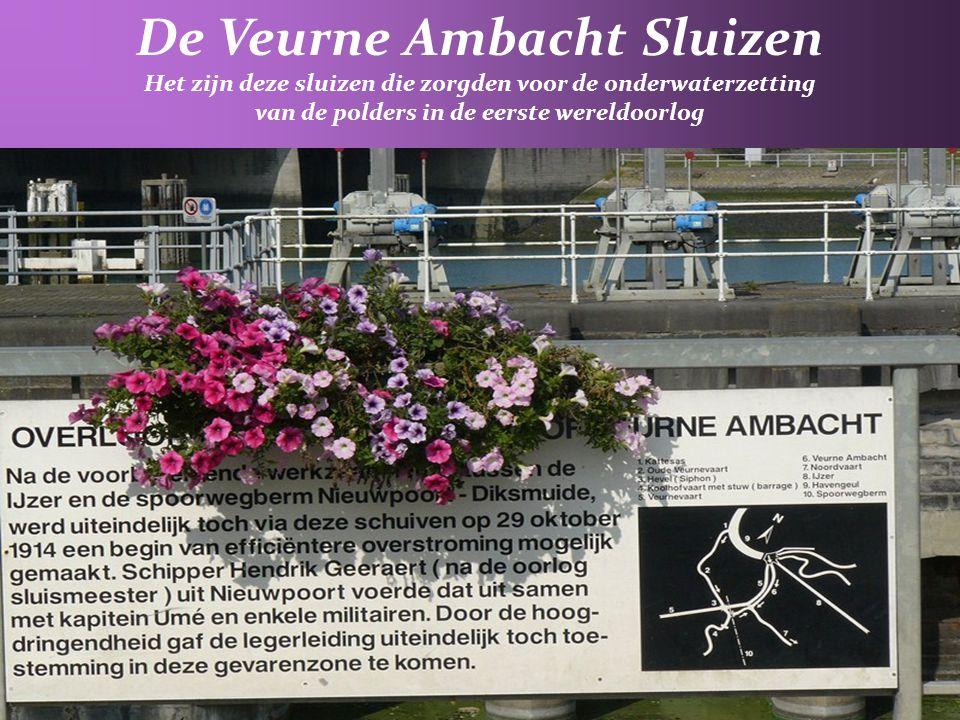 5° Veurne Ambacht : aflossingsvaart regelt de drainage van de polder van Ramskapelle