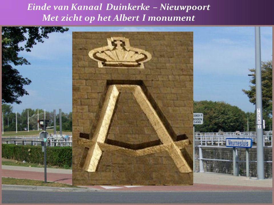 6° De Veurnesluis : kanaal van Nieuwpoort naar Duinkerke