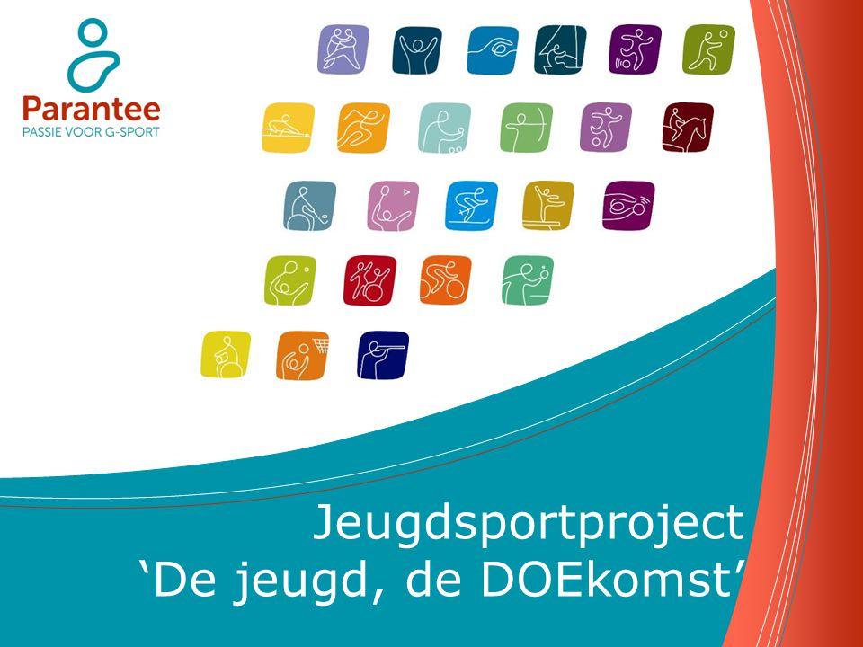 Inhoud Inleiding - Parantee vzw - Jeugdsportproject 'De jeugd, de DOEkomst' Doelstellingen van Parantee vzw Jeugdsportreglement - Subsidiëringsvoorwaarden - Accenten via kwaliteitscriteria Jeugdactieplan