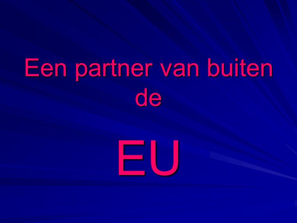 Een partner van buiten de EU