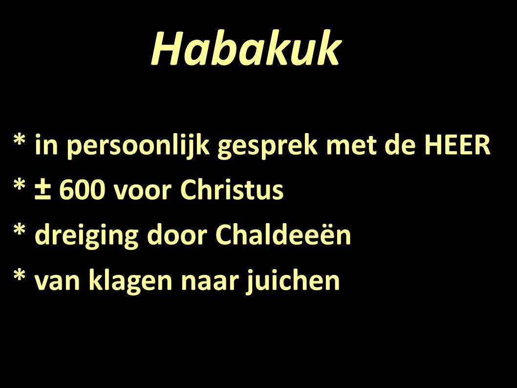 Habakuk 1:1-4