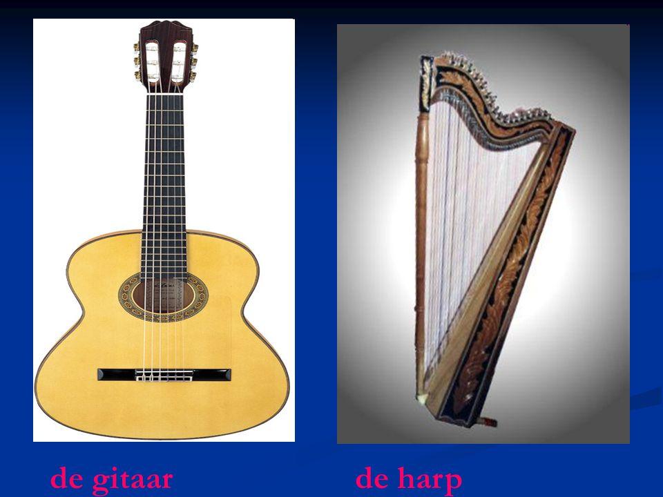 de gitaar de harp