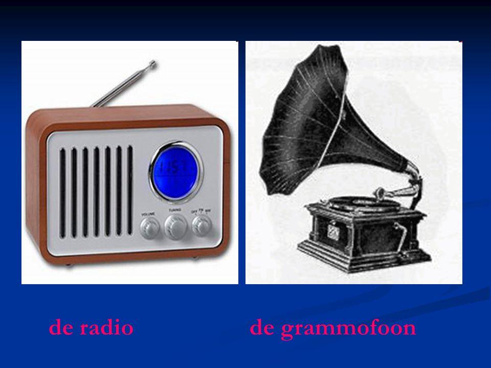 de radio de grammofoon