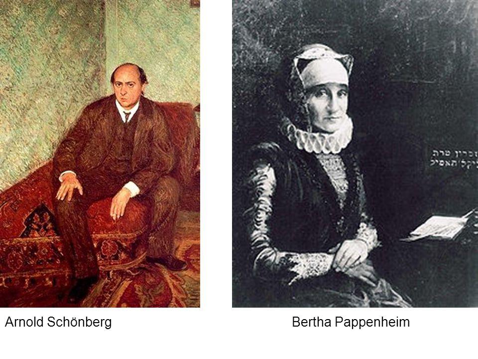 Arnold SchönbergBertha Pappenheim
