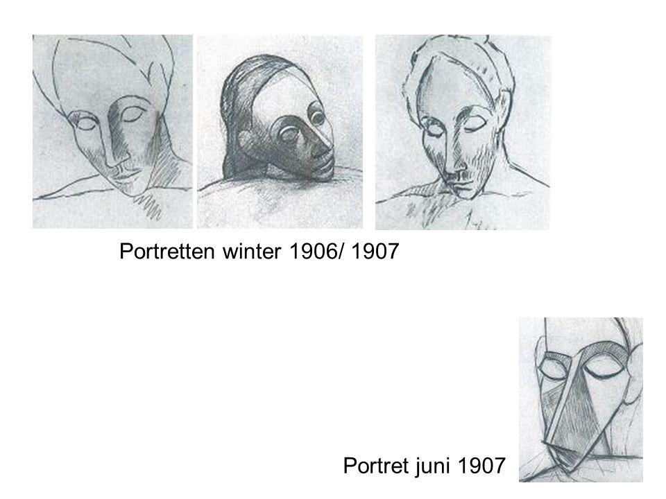 Portretten winter 1906/ 1907 Portret juni 1907