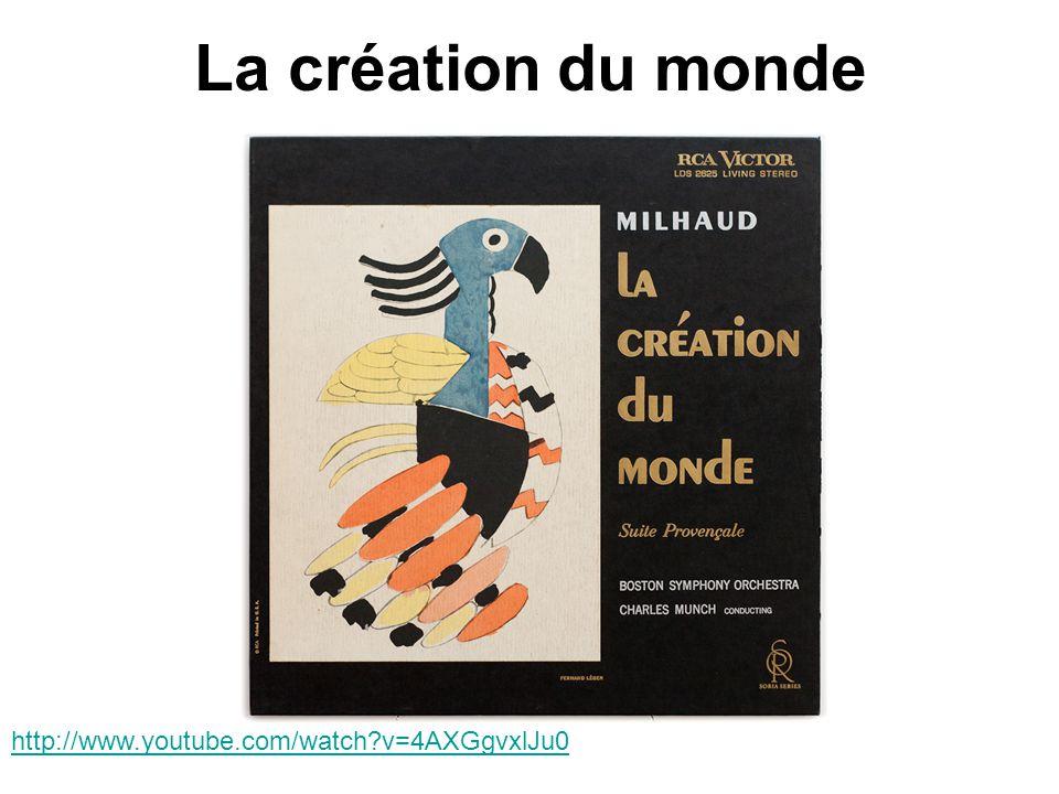 La création du monde http://www.youtube.com/watch?v=4AXGgvxlJu0