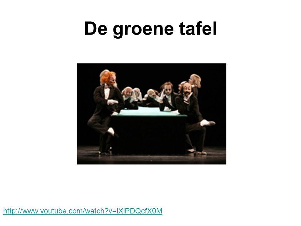 De groene tafel http://www.youtube.com/watch?v=lXlPDQcfX0M