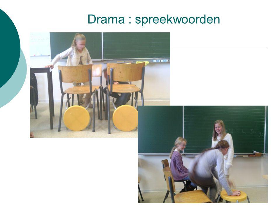 Drama : spreekwoorden