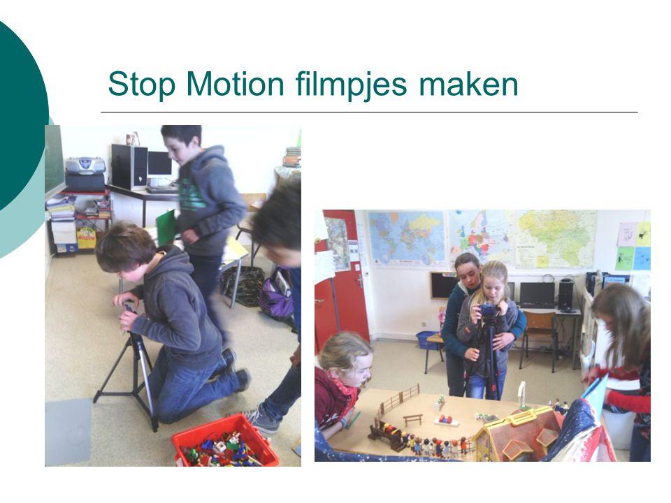 Stop Motion filmpjes maken