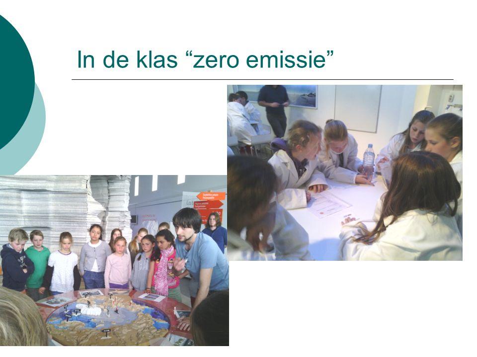 """In de klas """"zero emissie"""""""