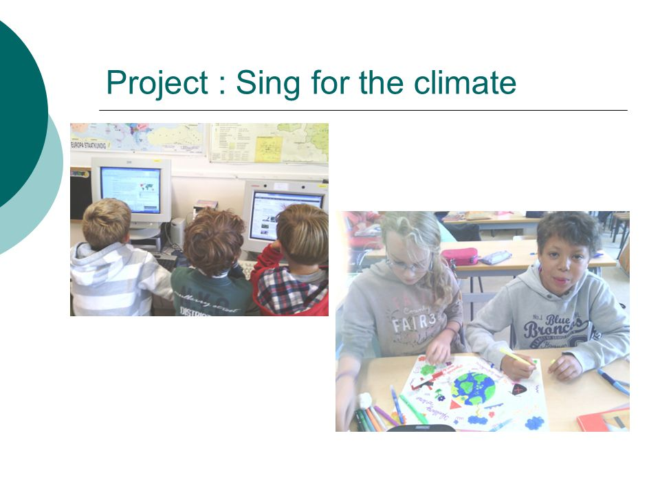 Project : Sing for the climate