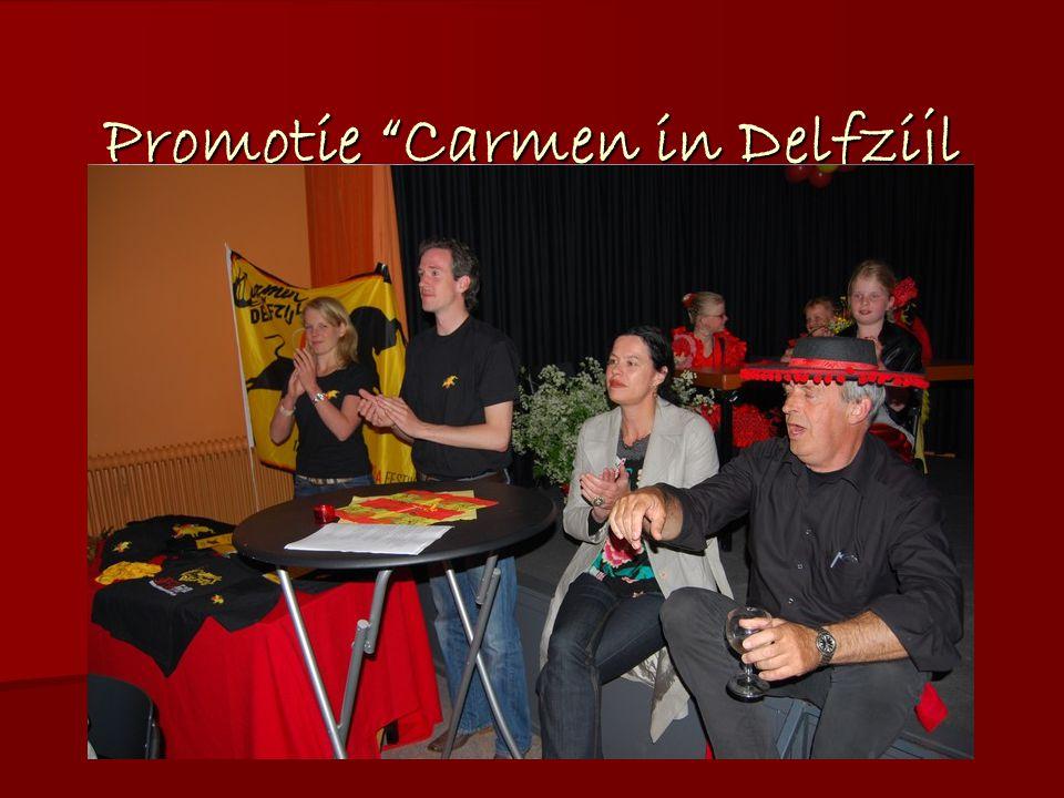 Promotie Carmen in Delfzijl