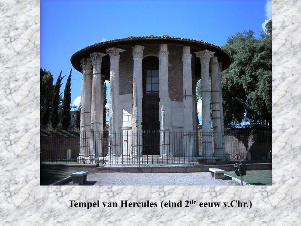 Tempel van Hercules (eind 2 de eeuw v.Chr.)