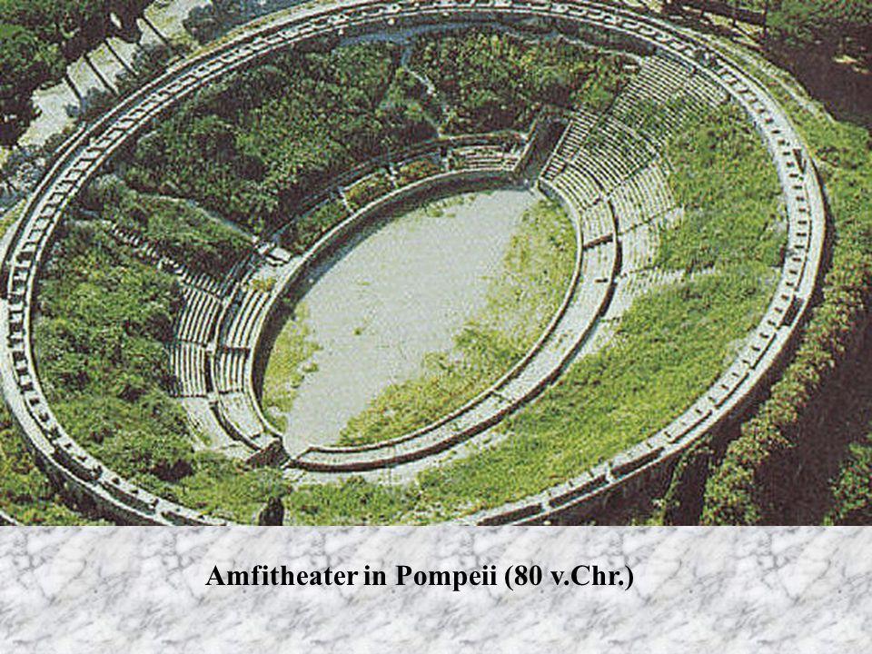 Amfitheater in Pompeii (80 v.Chr.)