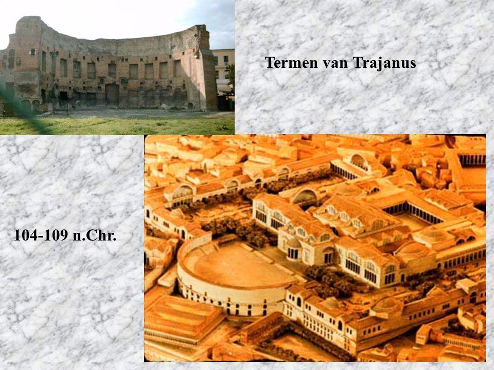 Termen van Trajanus 104-109 n.Chr.