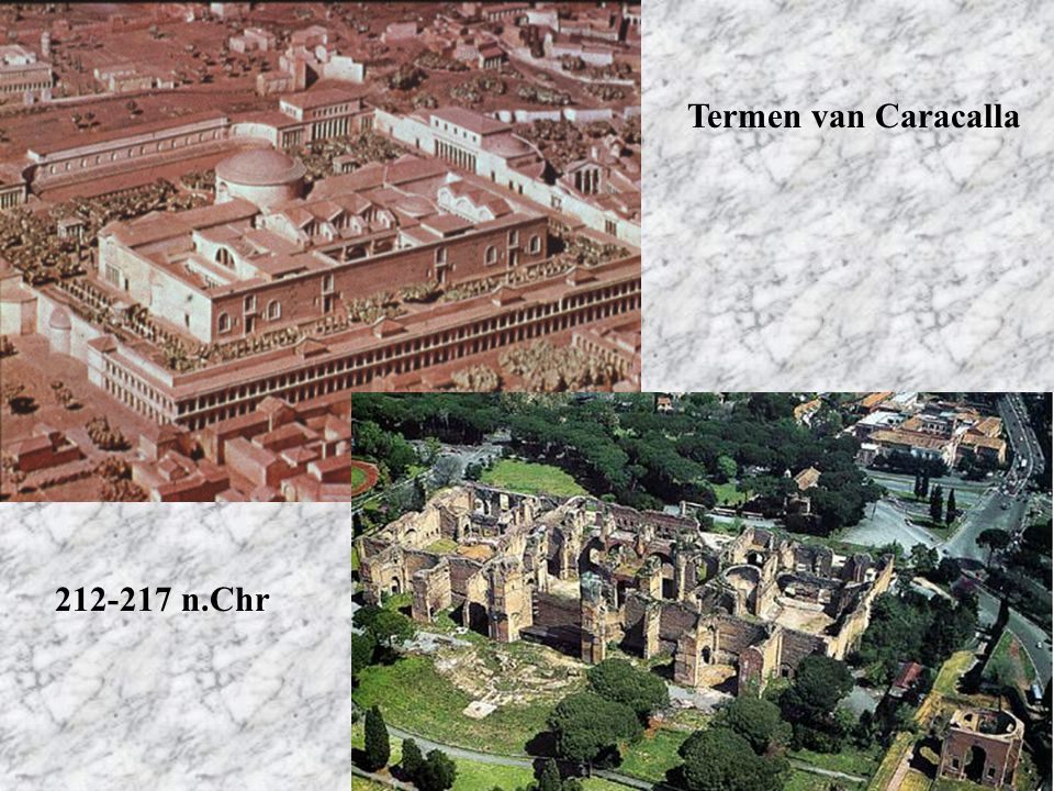 Termen van Caracalla 212-217 n.Chr