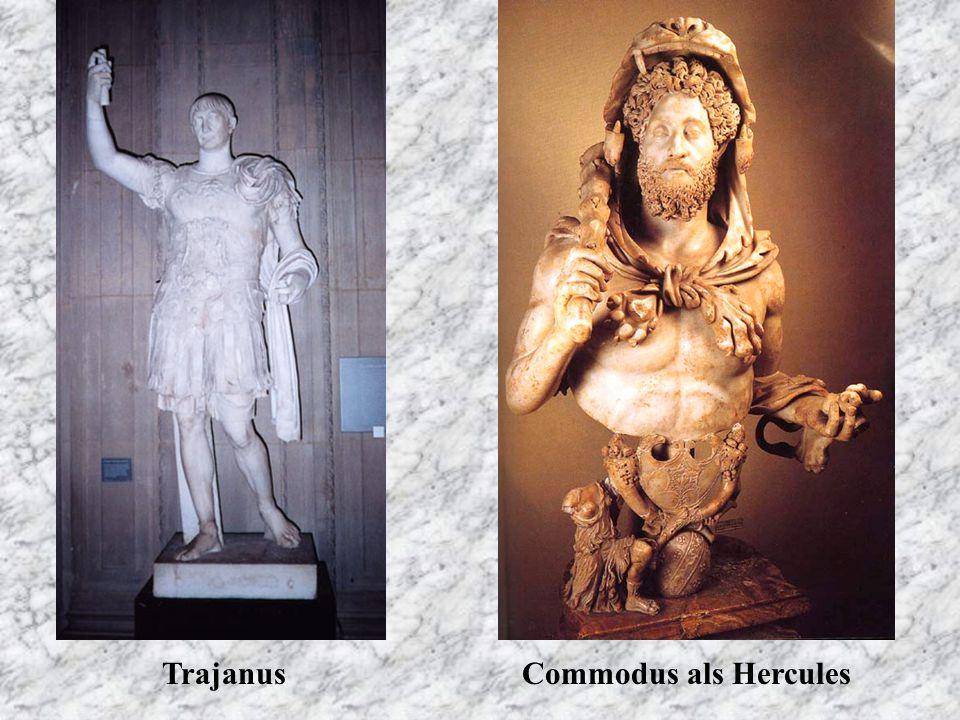 TrajanusCommodus als Hercules