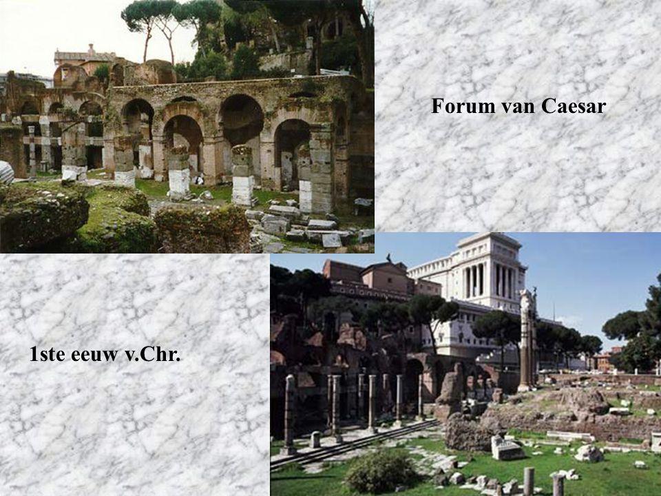 Forum van Caesar 1ste eeuw v.Chr.