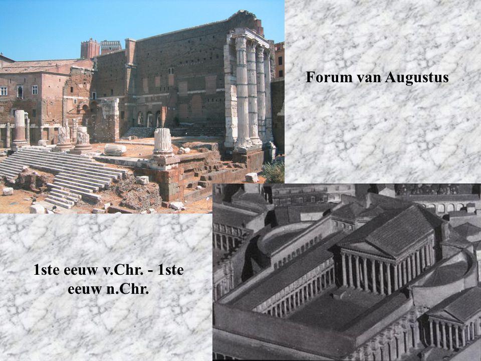 Forum van Augustus 1ste eeuw v.Chr. - 1ste eeuw n.Chr.