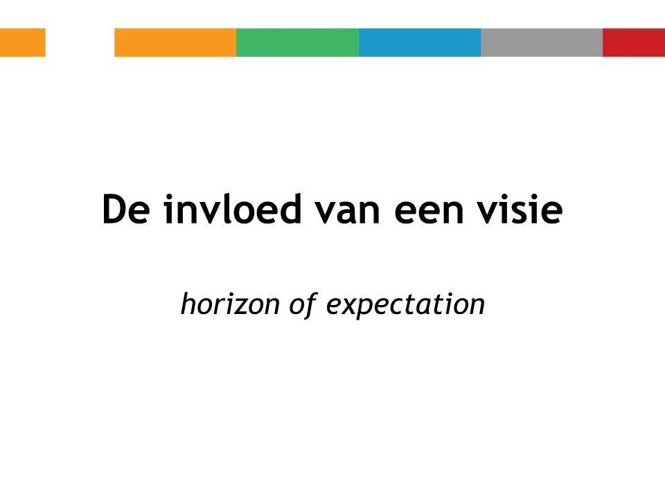De invloed van een visie horizon of expectation