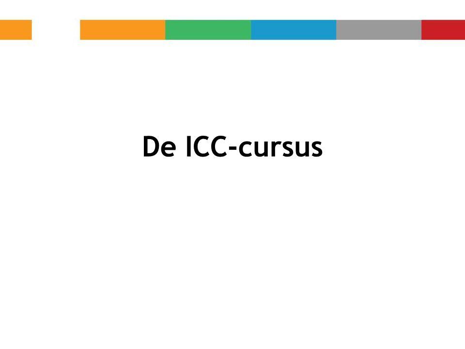 De ICC-cursus
