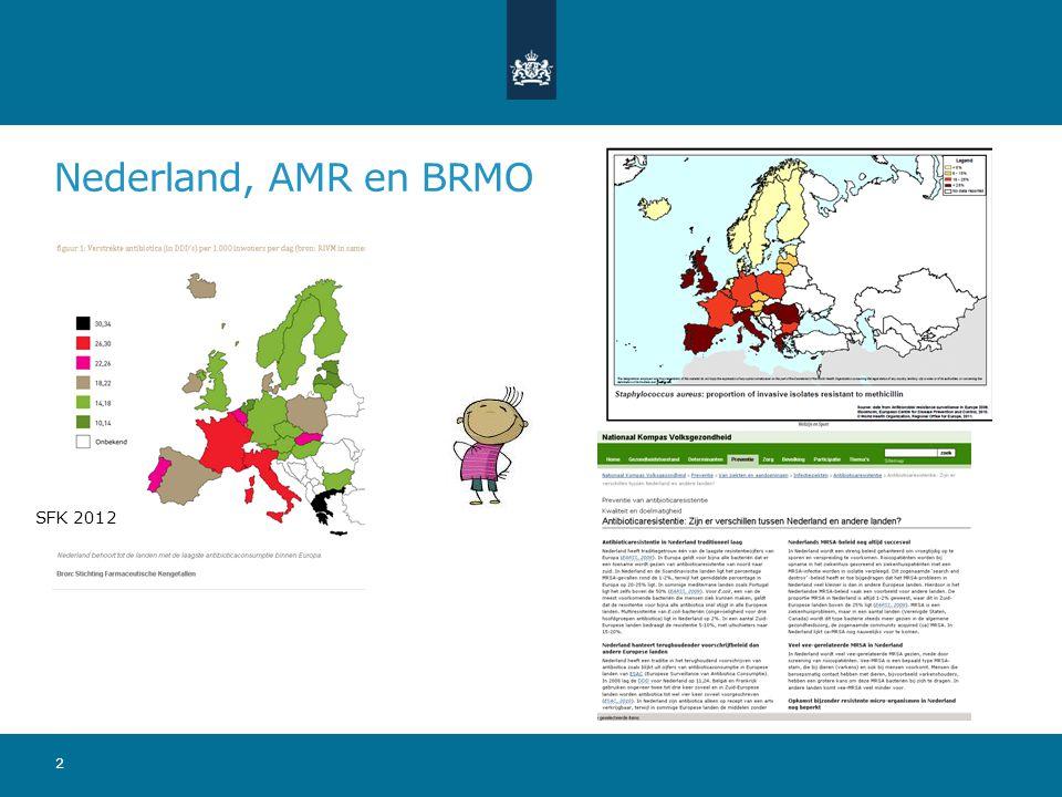 Nederland, AMR en BRMO 2 SFK 2012