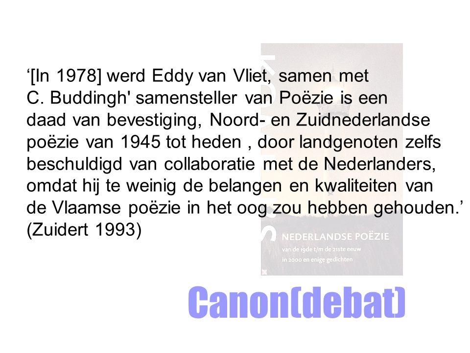 '[In 1978] werd Eddy van Vliet, samen met C.