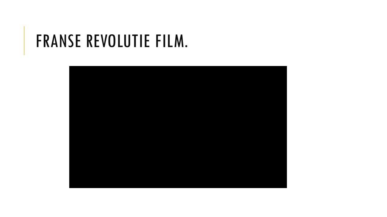 FRANSE REVOLUTIE FILM.