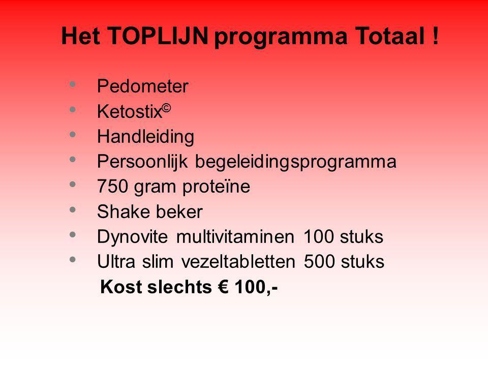 Het TOPLIJN programma Totaal .