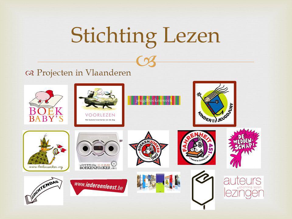   Projecten in Vlaanderen Stichting Lezen