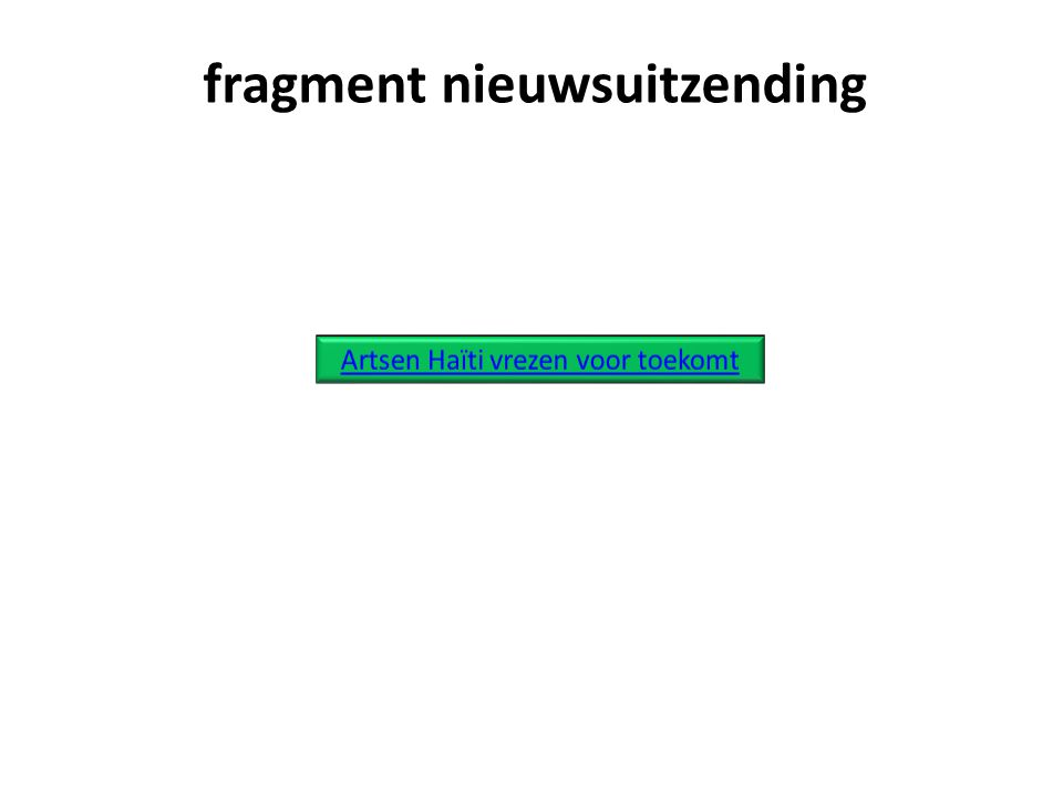 fragment nieuwsuitzending