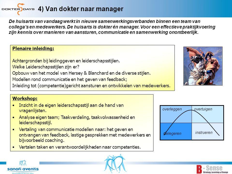5) Beïnvloeden en samenwerken Plenaire inleiding: Samenwerken Samenwerkingsvormen: coöperatie, BV of andere vorm.