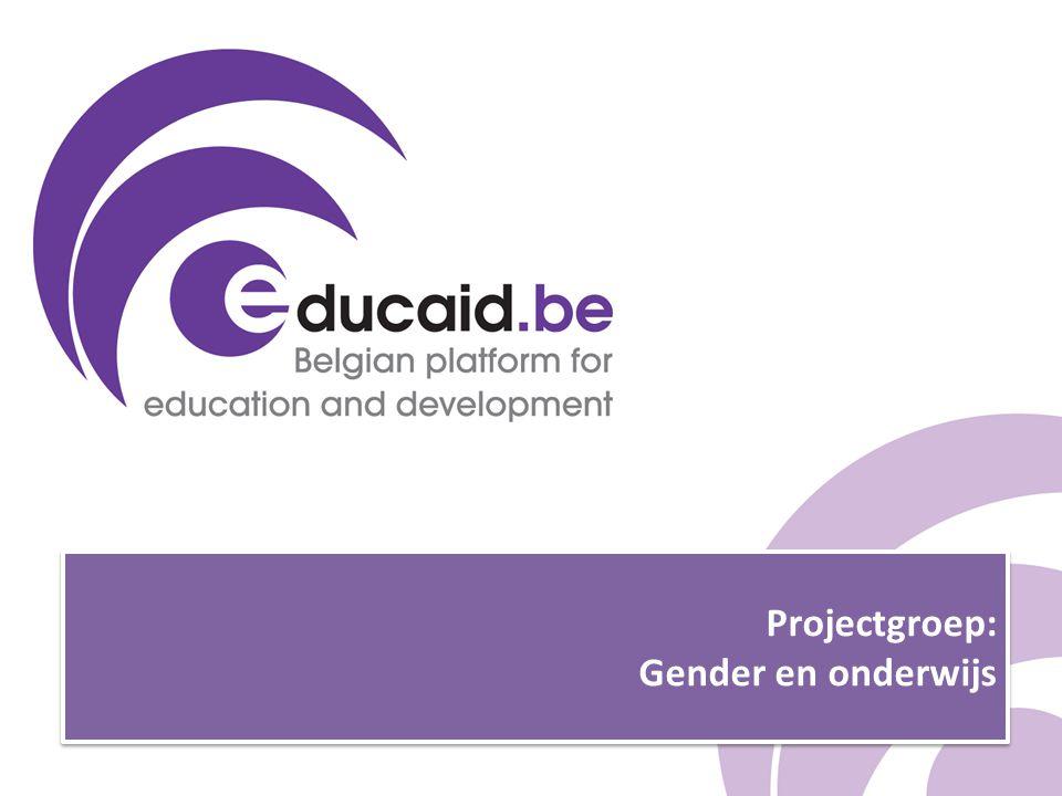 Projectgroep: Gender en onderwijs