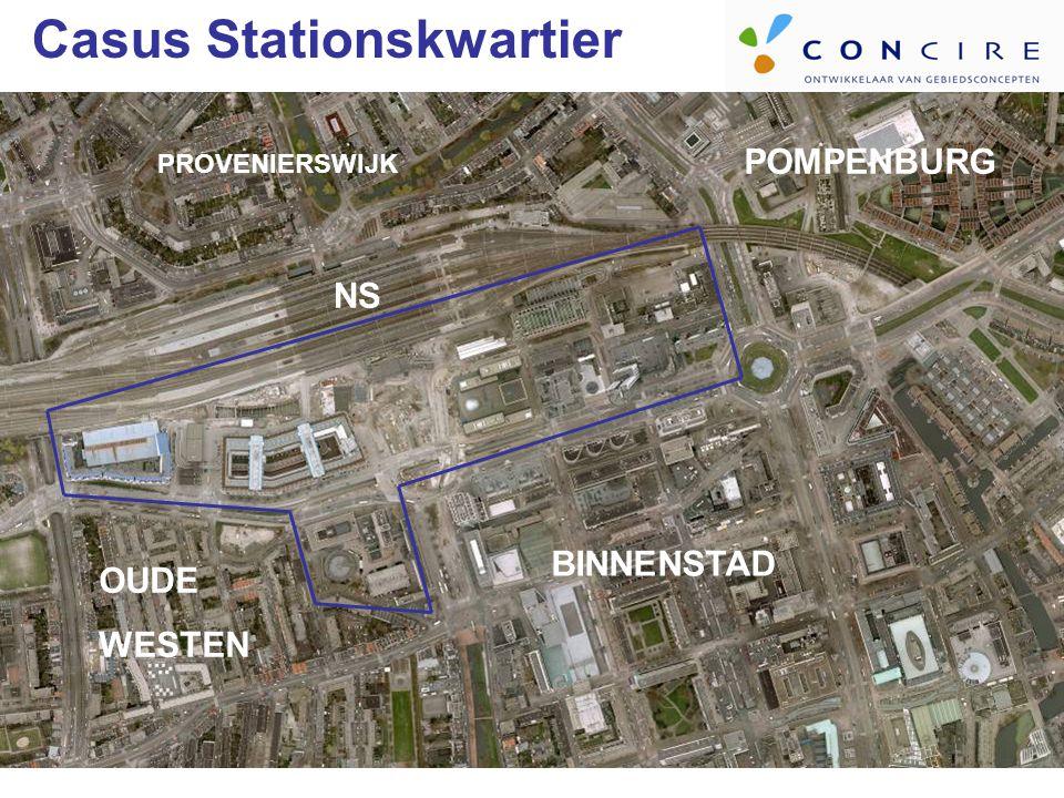 POMPENBURG BINNENSTAD PROVENIERSWIJK OUDE WESTEN NS Casus Stationskwartier