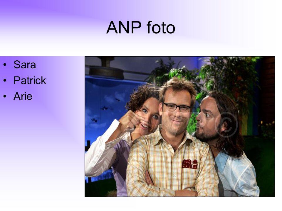 ANP foto Sara Patrick Arie