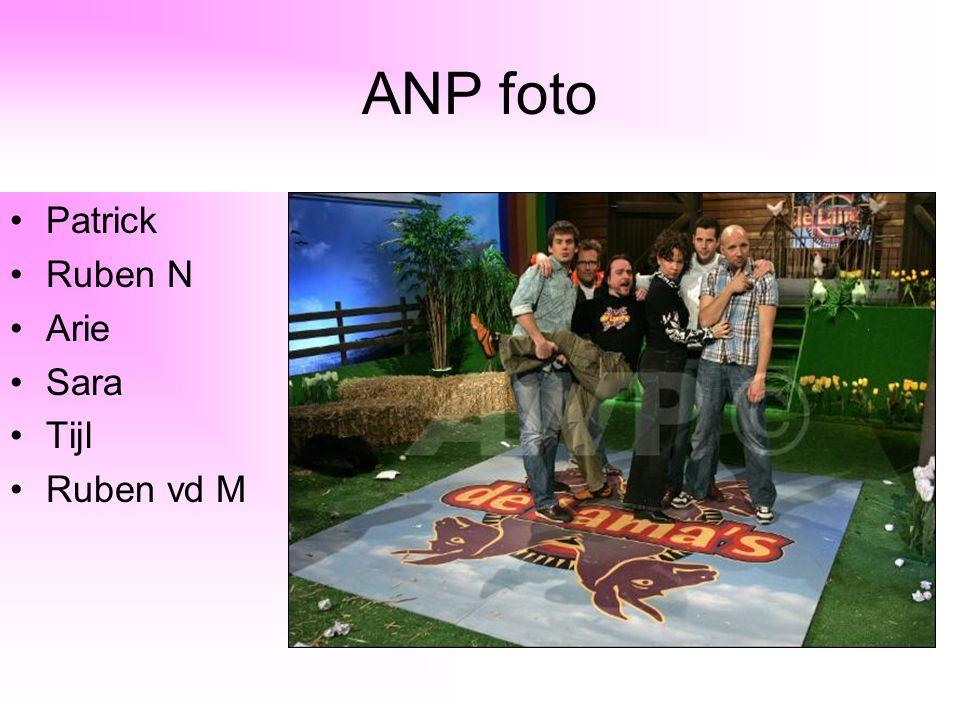 ANP foto Patrick Ruben N Arie Sara Tijl Ruben vd M