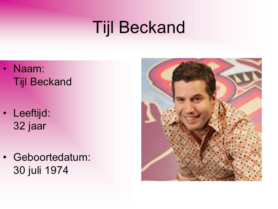 Tijl Beckand Naam: Tijl Beckand Leeftijd: 32 jaar Geboortedatum: 30 juli 1974