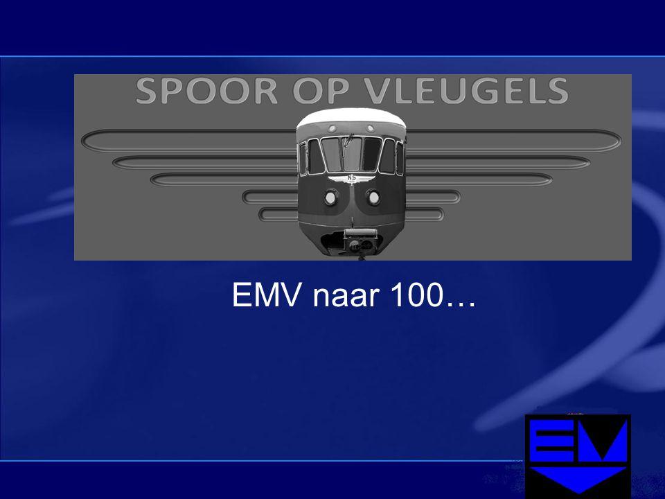 Spoor op Vleugels EMV naar 100…