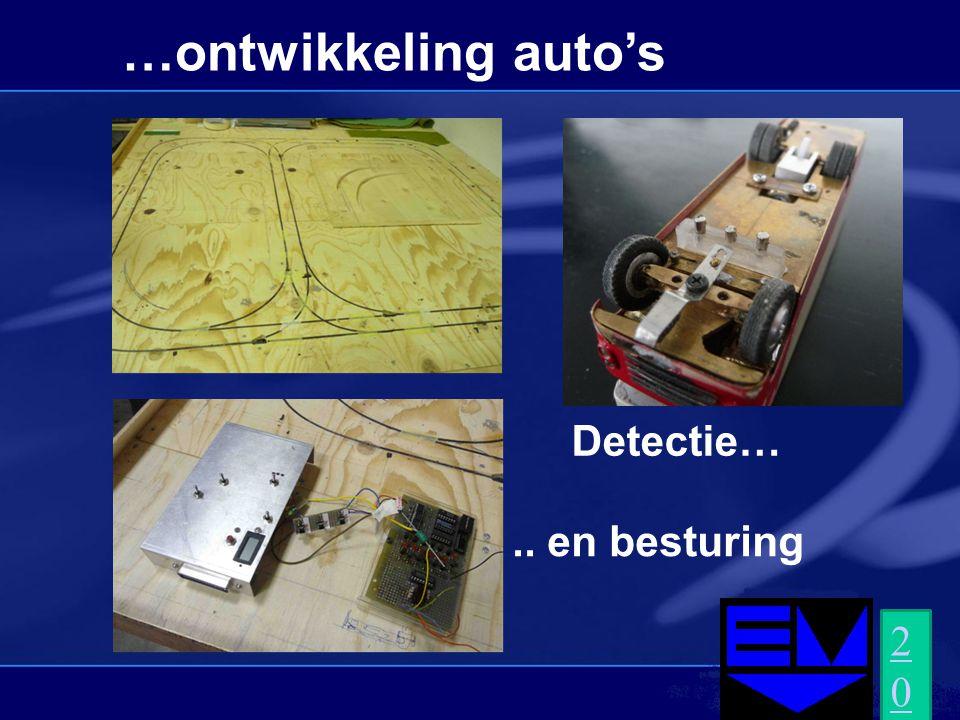 …ontwikkeling auto's Detectie….. en besturing 2010.AVI2010.AVI