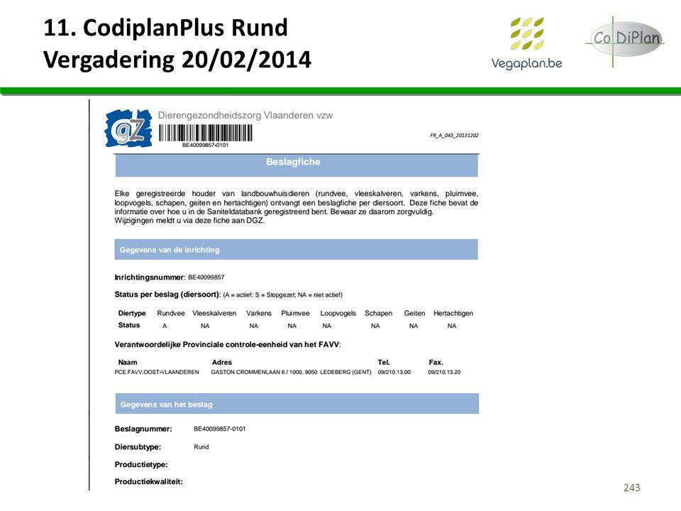 11. CodiplanPlus Rund Vergadering 20/02/2014 243