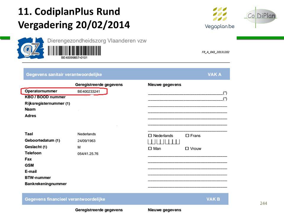 11. CodiplanPlus Rund Vergadering 20/02/2014 244