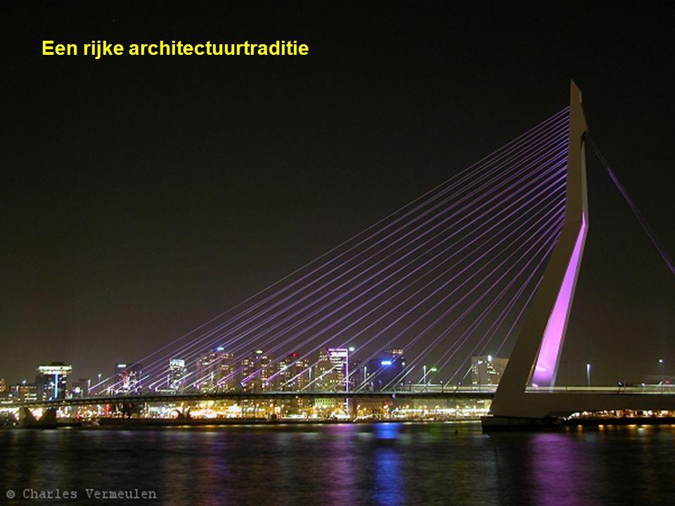 Een rijke architectuurtraditie
